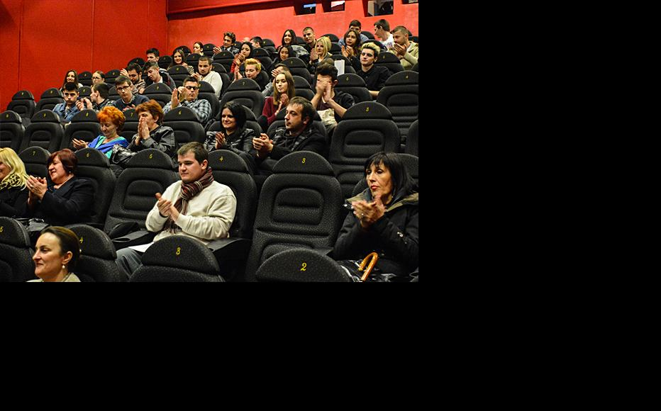Audience at the debate. (Photo: Mario Donlic)