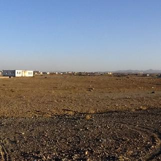 The site intended for Shahrak Mamorin remains undeveloped. (Photo: IWPR)