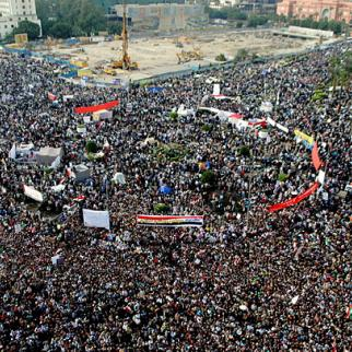 Crowds on Tahrir Square, November 18, 2011. (Photo: Lilian Wagdy /Flickr)