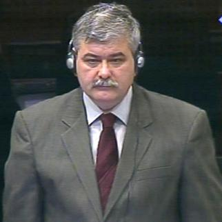Amor Masovic, prosecution witness in the ICTY courtroom. (Photo: ICTY)