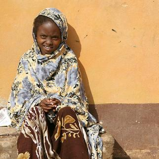 A young girl in Garissa, north eastern Kenya. She is one of 120 girls staying at a sanctuary for girls at risk of female genital mutilation. (Photo: Ann Weru/IRIN/Flickr)