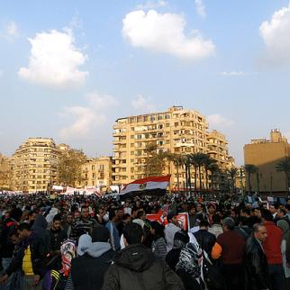 Protests at Tahrir Square in Cairo. (Photo: Ramy Raoof/Flickr)